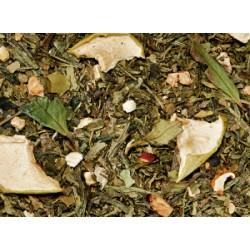 Té verde genjibre y manzana