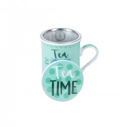 "TAZA BUHO "" TEA TIME"""
