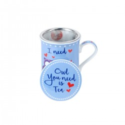 "TAZA BUHO "" I NEED TEA"""